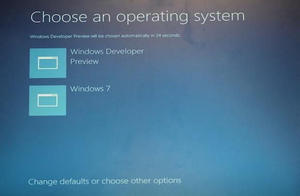 Boot loader do Windows 8 (Foto: Reprodução)