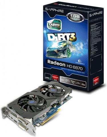 Placa de vídeo Radeon HD 6870. (Foto: Divulgação)