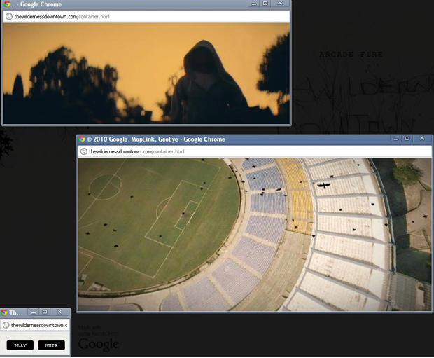 Site Thewildernessdowntown: um filme interativo (Foto: Reprodução)