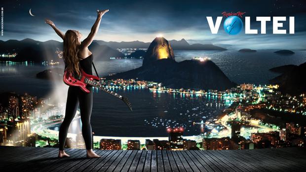 Poster do Rock in Rio 2011 (Foto: Divulgação)