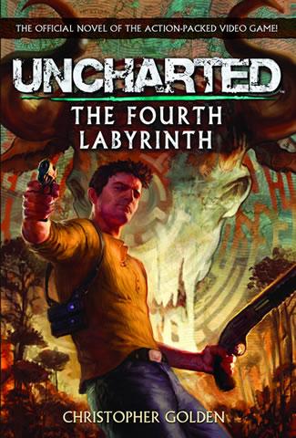 O livro Uncharted: The Fourth Labyrinth (Foto: Divulgação)