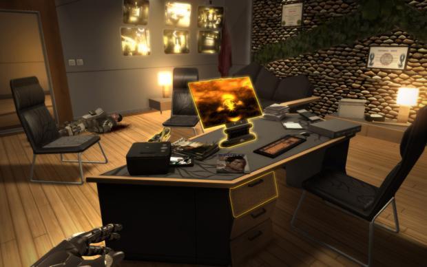 Um dos inúmeros computadores que podem ser hackeados no jogo (Foto: Divulgação)