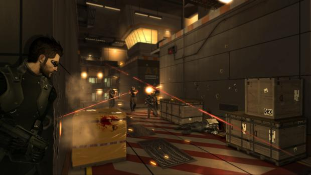 O sistema de cover do jogo funciona muito bem, e os inimigos farão uma varredura para localizá-lo (Foto: Divulgação)
