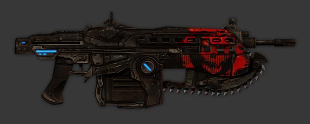 Weapon Skin Bundle de Gears of War 3 (Foto: Divulgação)