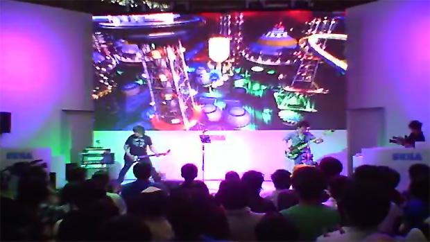 Trailer de Sonic Generations na TGS 2011 teve direito a música ao vivo (Foto: Reprodução)