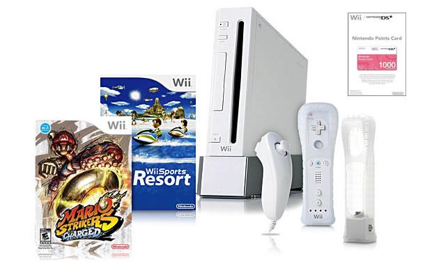 Kit exclusivo do Wii  (Foto: Divulgação)