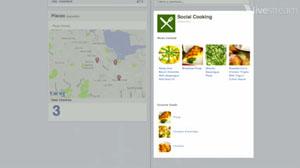 Aplicativo Social Cooking. (Foto: Produção)