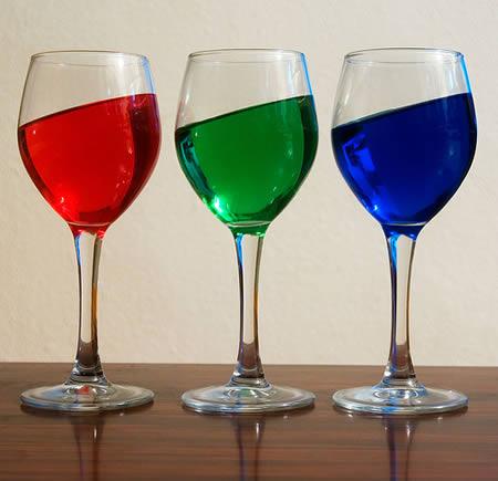 Ondas no vinho (Foto: Reprodução)