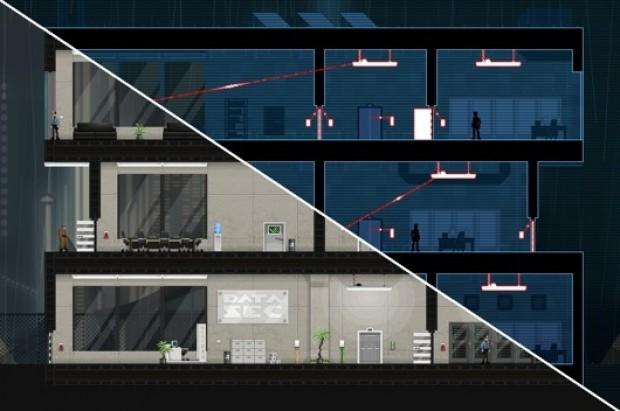 Gunpoint: game de espionagem e puzzle baseado em circuitos elétricos (Foto: Divulgação)