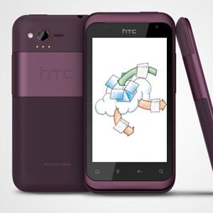 HTC Rhyme, já vem com o Dropbox de 5 GB (Foto: Divulgação)