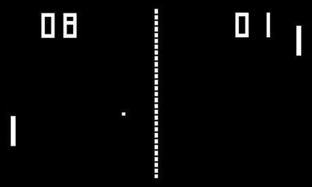 O clássico Pong (Foto: Divulgação)