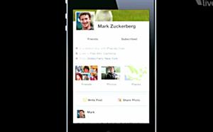 Nova Timeline do Facebook no iPhone (Foto: Reprodução)