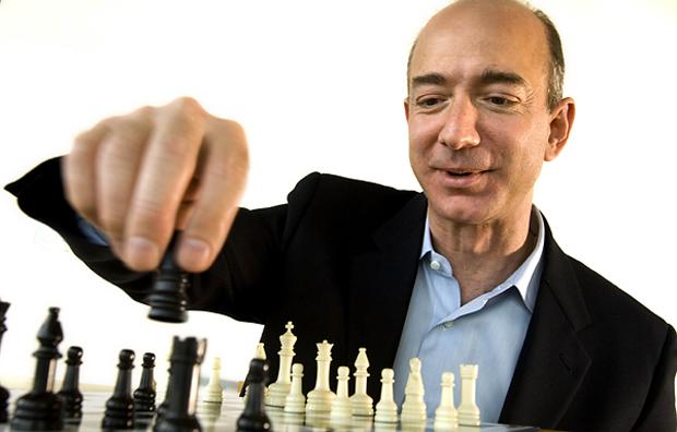 Jeff Bezos, CEO da Amazon (Foto: Reprodução/The New York Times)