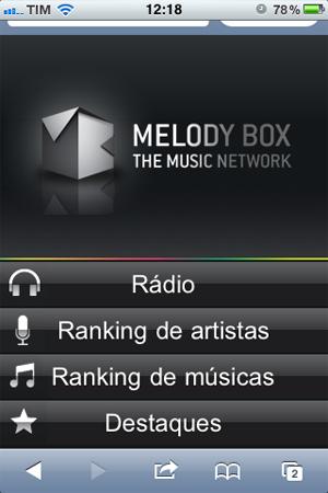 Melody Box Mobile (Foto: Reprodução/TechTudo)
