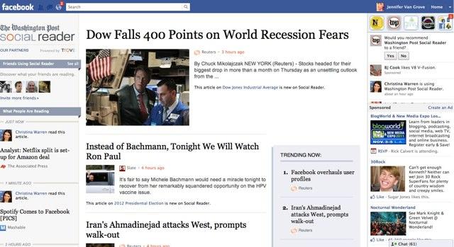 Washington Post aplicativo (Foto: Divulgação)