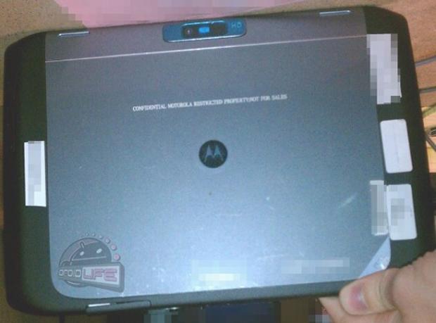 Suposto Motorola Xoom 2 (Foto: Reprodução/Droid Life)