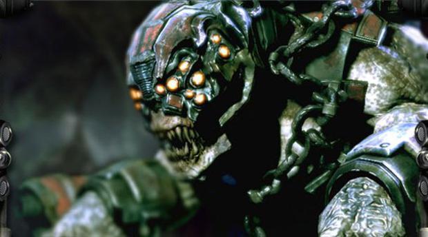 Monstro criado na Unreal Engine 3  (Foto: Divulgação)
