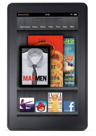 O tablet traz o Android 2.3 com uma interface altamente customizada pela Amazon (Foto: Divulgação)