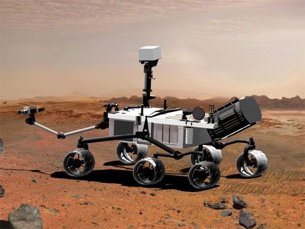 NASA Curiosity (Foto: Divulgação)