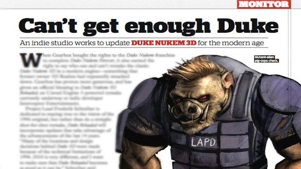 Remake de Duke Nukem 3D tem produção paralisada (Foto: Divulgação)