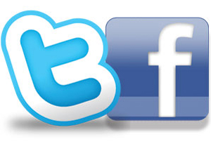 logo do face versus logo do twitter 2 (Foto: Divulgação)