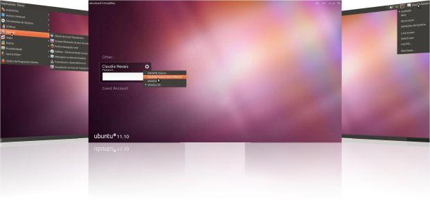 Interface do Ubuntu 11.10. (Foto: Divulgação)