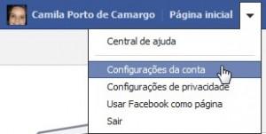 Alterar configurações de privacidade (Foto: Reprodução)