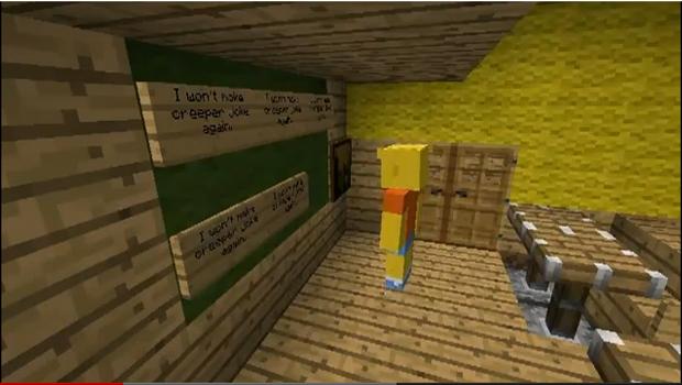 Fã recria abertura dos Simpsons no Minecraft (Foto: Divulgação)