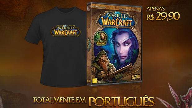 World of Warcraft em português (Foto: Divulgação)