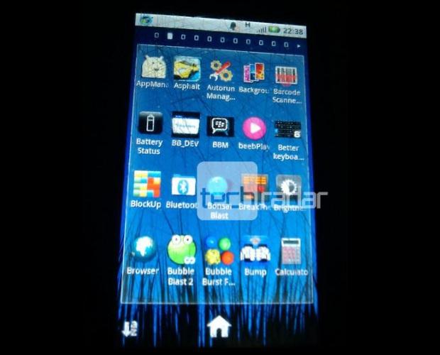 BlackBerry Messenger no Android? A dúvida fica com esta foto (Foto: TechRadar/Reprodução)
