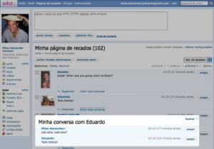 Perfil do Orkunt com alterações nas 'conversas' (Foto: Divulgação)