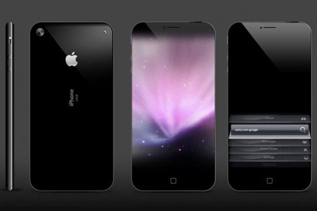 Conceito de iPhone 5 criado por Antonello Falcon e divulgado no The Veteran Geek (Foto: Reprodução)
