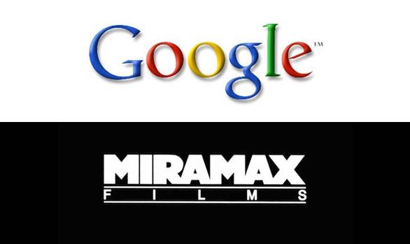 Logos Google e Miramax (Foto: Reprodução)