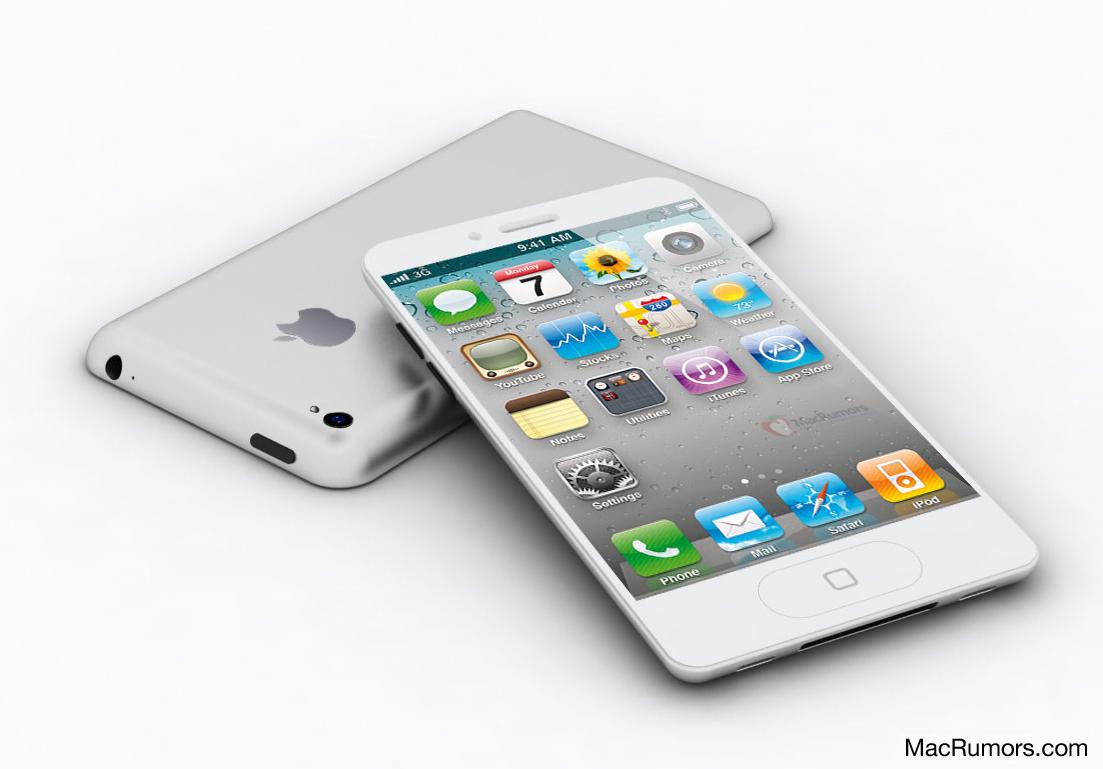 Mock-up do iPhone 5 divulgado no MacRumors (Foto: Reprodução/MacRumors)