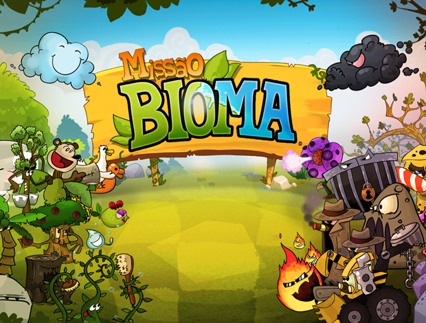 Missão Bioma, o primeiro newsgame da TV Globo (Foto: Divulgação)