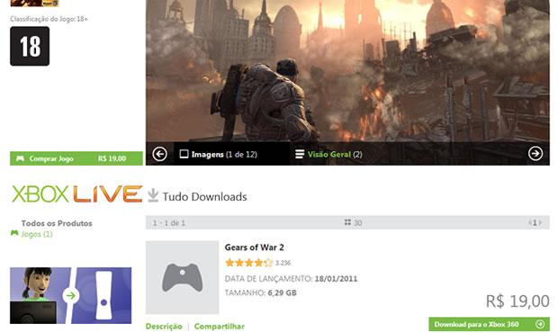 Jogos do Xbox 360 ficam mais baratos na Xbox Live brasileira (Foto: Divulgação)