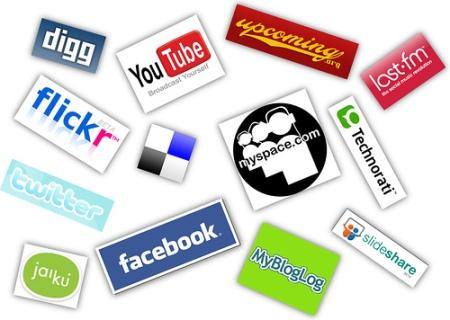 Logos de redes sociais. (Foto: Divulgação)