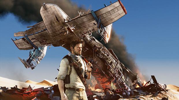 Imagem do jogo Uncharted 3 (Foto: Divulgação)