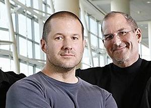 Jonathan Ive e Steve Jobs (Foto: Reprodução)