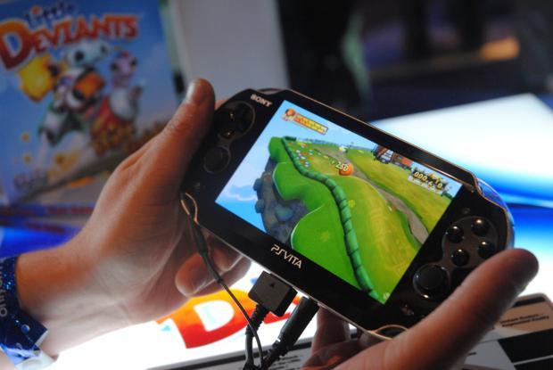 PlayStation Vita, uma das atrações da Brasil Game Show (Foto: Divulgação)