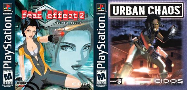 Clássicos Fear Effect 2: Retro Helix e Urban Chaos (Foto: Divulgação)