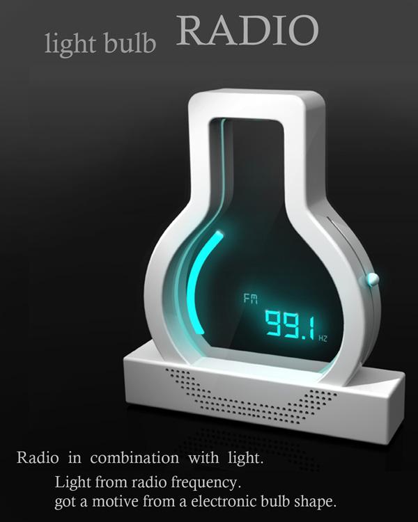 Light Bulb Radio. (Foto: Divulgação)