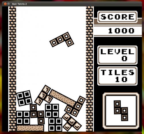 Not Tetris, ganha quem (não) encaixar os blocos (Foto: Divulgação)