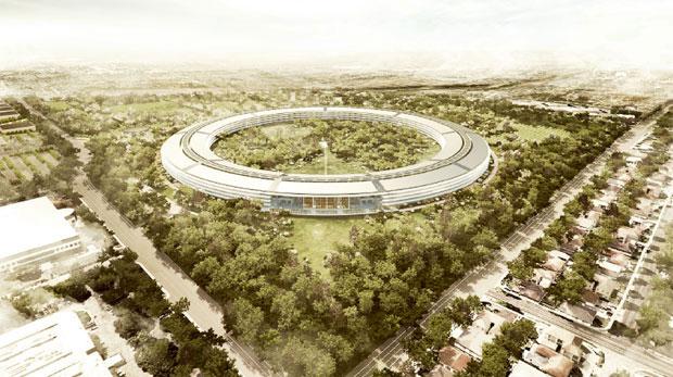 Nova sede da Apple (Foto: Divulgação)