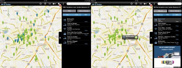 Pontos Wi-Fi pagos e gratuitos (Foto: Reprodução)