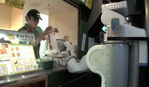 Robô PR2 (Foto: Reprodução)