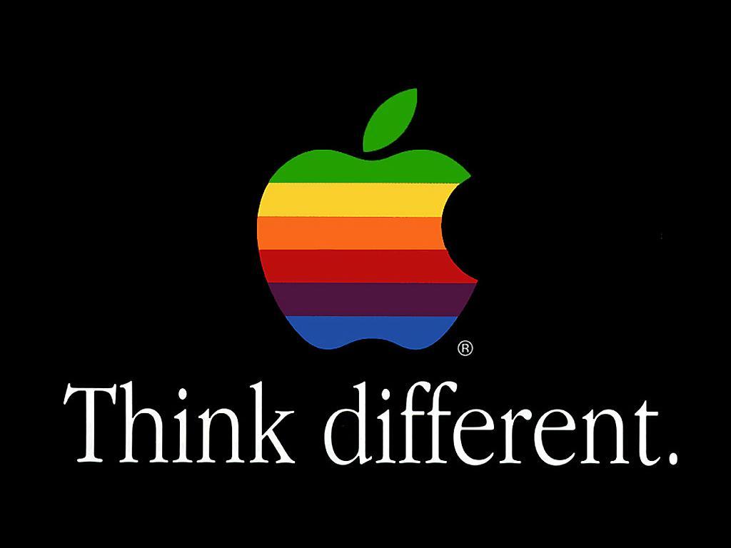 Think different (Foto: Reprodução)