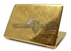 Macbook Pro em ouro (Foto: Divulgação)