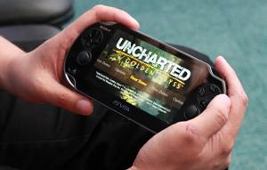 Uncharted Golden Abyss no PS Vita (Foto: Foto: Allan Melo)