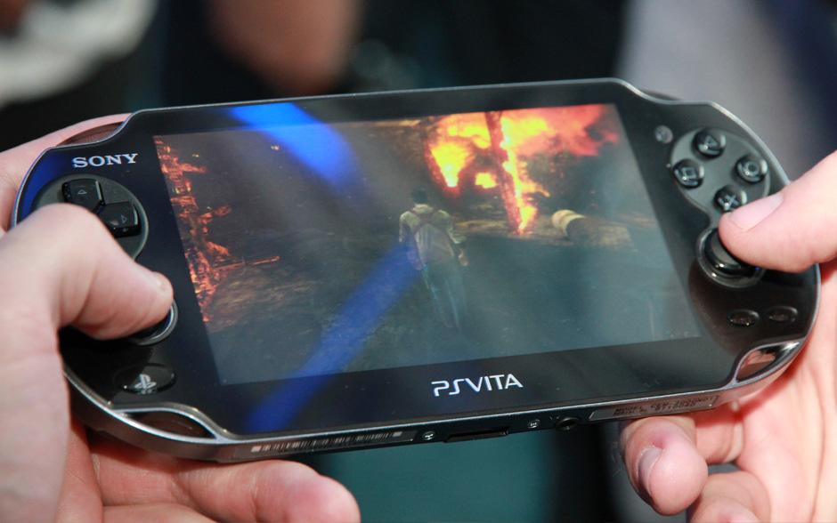 Uncharted 3 no PlayStation Vita (Foto: Allan Melo/TechTudo)